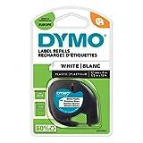 DYMO LetraTag Etikettenband Authentisch | schwarz...